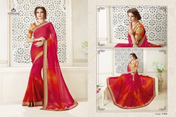 NIRAVANA FASHION NEW CATALOG OF EXCLUSIVE DESIGNER SAREE CATALOG WHOLESALE BEST RATE BY GOSIYA EXPORTS SURAT (7)