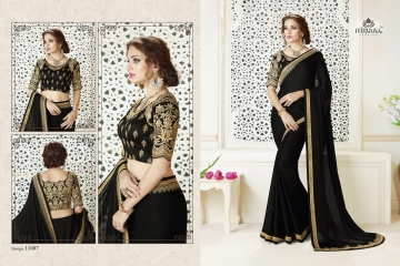 NIRAVANA FASHION NEW CATALOG OF EXCLUSIVE DESIGNER SAREE CATALOG WHOLESALE BEST RATE BY GOSIYA EXPORTS SURAT (8)