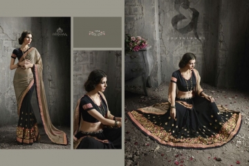 NIRVANA ALL HITS FANCY DESIGNER SAREE COLLECTION WHOLESALE BY GOSIYA EXPORTS SURAT (11)