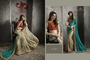 NIRVANA ALL HITS FANCY DESIGNER SAREE COLLECTION WHOLESALE BY GOSIYA EXPORTS SURAT (12)