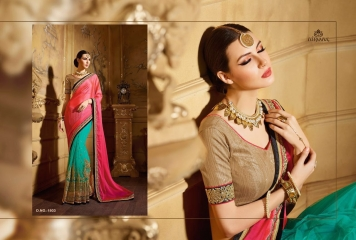 NIRVANA ALL HITS FANCY DESIGNER SAREE COLLECTION WHOLESALE BY GOSIYA EXPORTS SURAT (13)