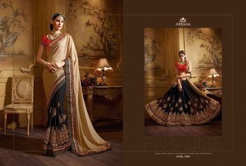 NIRVANA ALL HITS FANCY DESIGNER SAREE COLLECTION WHOLESALE BY GOSIYA EXPORTS SURAT (14)
