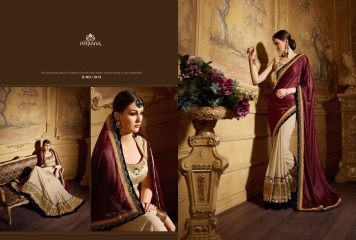 NIRVANA ALL HITS FANCY DESIGNER SAREE COLLECTION WHOLESALE BY GOSIYA EXPORTS SURAT (18)