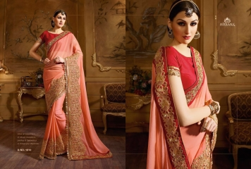 NIRVANA ALL HITS FANCY DESIGNER SAREE COLLECTION WHOLESALE BY GOSIYA EXPORTS SURAT (19)