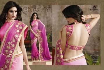NIRVANA ALL HITS FANCY DESIGNER SAREE COLLECTION WHOLESALE BY GOSIYA EXPORTS SURAT (2)