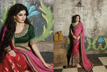 NIRVANA ALL HITS FANCY DESIGNER SAREE COLLECTION WHOLESALE BY GOSIYA EXPORTS SURAT (3)