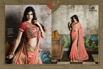 NIRVANA ALL HITS FANCY DESIGNER SAREE COLLECTION WHOLESALE BY GOSIYA EXPORTS SURAT (4)