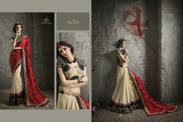 NIRVANA ALL HITS FANCY DESIGNER SAREE COLLECTION WHOLESALE BY GOSIYA EXPORTS SURAT (7)