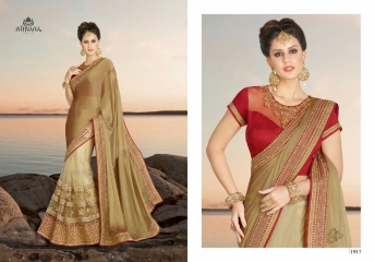 NIRVANA FASHION 1900 SERIES DESIGNER SAREES WHOLESALE RATE AT SURAT (17)
