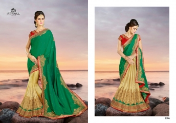 NIRVANA FASHION 1900 SERIES DESIGNER SAREES WHOLESALE RATE AT SURAT (6)