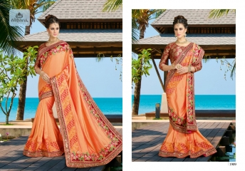 NIRVANA FASHION 1900 SERIES DESIGNER SAREES WHOLESALE RATE AT SURAT (9)