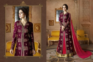 NIRVANA FASHION SAMPANN DESIGNER SUITS WHOLESALE SURAT DEALER BY GOSIYA EXPORTS SURAT (1)