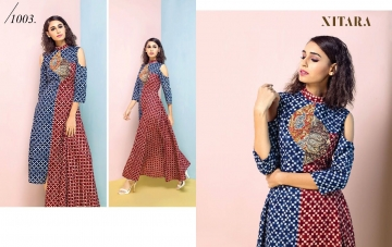 NITARA SPLASH RAYON KURTI WHOLESALE RATE AT GOSIYA EXPORTS SURAT WHOLESALE DEALER AND SUPPLAYER SURAT GUJARAT (3)