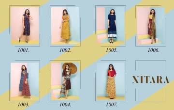 NITARA SPLASH RAYON KURTI WHOLESALE RATE AT GOSIYA EXPORTS SURAT WHOLESALE DEALER AND SUPPLAYER SURAT GUJARAT (9)