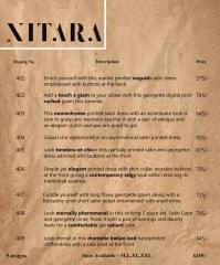 NITRA GEORGEETS DESGINER KURTI SERIES 402 WHOLESALE PRICE DEALER SURAT AT GOSIYA EXPORTS SURAT GUJARAT (10)