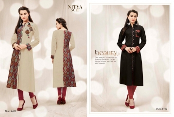 NITYA NX VOL 14 BY LT FABRICS COTTON CASUAL WEAR KURTI COLLECTION WHOLESALE SURAT BEST RATE BY GOSIYA EXPORTS (1)