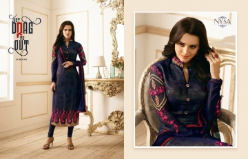 NYSA LIFESTYLE VOL 8 CATALOG WHOLESALE PARTY WEAR GEORGETTE EMBROIDERED SUITS SUPPLIER DEALER BEST RATE BY GOSIYA (4)