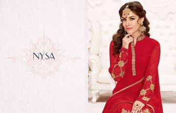 NYSA STRAIGHT SUITS COLLECTION VOL - 5 WHOLESALE RATE AT GOSIYA EXPORTS SURAT WHOLESALE DEALER AND SUPPLAYER SURAT GUJARAT (2)