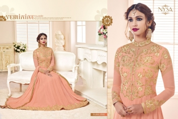 NYSA ZARAH COLLECTION VOL 6 GEORGETTE DESIGNER SUITS WHOLESALE SURAT ONLINE BEST RATE BY GOSIYA EXPORTS INDIA (2)