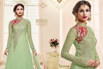 NYSA ZARAH COLLECTION VOL 6 GEORGETTE DESIGNER SUITS WHOLESALE SURAT ONLINE BEST RATE BY GOSIYA EXPORTS INDIA (4)