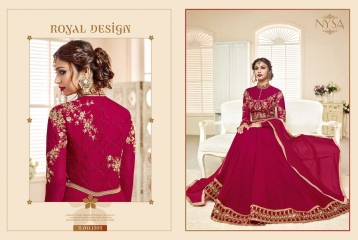 NYSA ZARAH COLLECTION VOL 6 GEORGETTE DESIGNER SUITS WHOLESALE SURAT ONLINE BEST RATE BY GOSIYA EXPORTS INDIA (6)