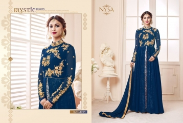 NYSA ZARAH COLLECTION VOL 6 GEORGETTE DESIGNER SUITS WHOLESALE SURAT ONLINE BEST RATE BY GOSIYA EXPORTS INDIA (7)