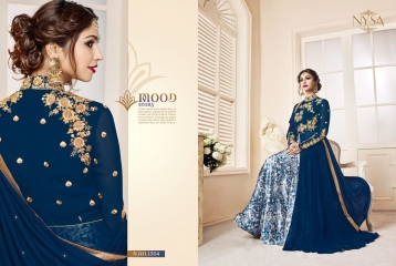 NYSA ZARAH COLLECTION VOL 6 GEORGETTE DESIGNER SUITS WHOLESALE SURAT ONLINE BEST RATE BY GOSIYA EXPORTS INDIA (8)
