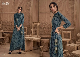 OM TEX SAPPHIRE LAWN COTTON LONG KURTI WHOLESALE BEST RATE BY GOSIYA EXPORTS SURAT ONLINE (1)