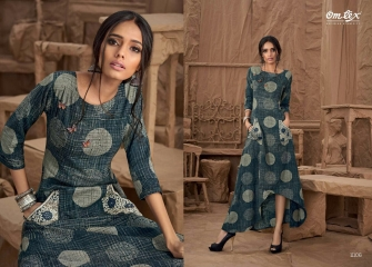 OM TEX SAPPHIRE LAWN COTTON LONG KURTI WHOLESALE BEST RATE BY GOSIYA EXPORTS SURAT ONLINE (2)