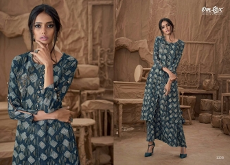 OM TEX SAPPHIRE LAWN COTTON LONG KURTI WHOLESALE BEST RATE BY GOSIYA EXPORTS SURAT ONLINE (4)
