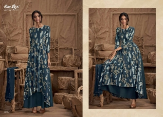 OM TEX SAPPHIRE LAWN COTTON LONG KURTI WHOLESALE BEST RATE BY GOSIYA EXPORTS SURAT ONLINE (5)