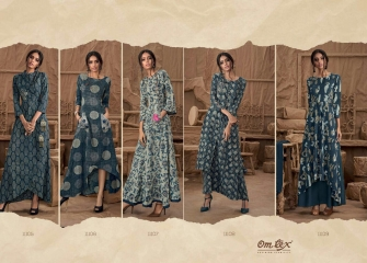 OM TEX SAPPHIRE LAWN COTTON LONG KURTI WHOLESALE BEST RATE BY GOSIYA EXPORTS SURAT ONLINE (7)