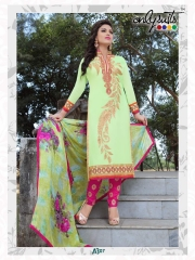 ONLY SUIT PRESENT A-3 SALWAR KAMEEZ WHOLESALE RATE AT GOSIYA EXPORTS SURAT (8)