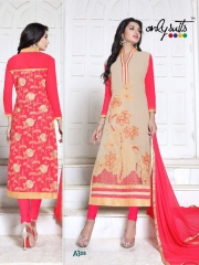 ONLY SUIT PRESENT A-3 SALWAR KAMEEZ WHOLESALE RATE AT GOSIYA EXPORTS SURAT (9)