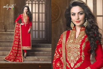 ONLY SUITS A-2 GEORGETTE WORK LONG SALWAR KAMEEZ CATALOGUE WHOLESALE BEST RATE (3)