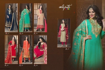 ONLY SUITS A-2 GEORGETTE WORK LONG SALWAR KAMEEZ CATALOGUE WHOLESALE BEST RATE (8)