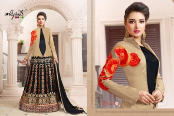 ONLY SUITS BRIDAL VOL 3 WHOLESALE EMBROIDERY SALWAR KAMEEZ SURAT BEST RATE GOSIYA EXPORTS (5)