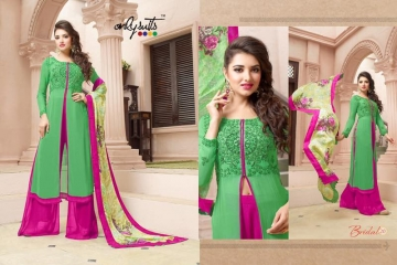 ONLY SUITS BRIDAL VOL 3 WHOLESALE EMBROIDERY SALWAR KAMEEZ SURAT BEST RATE GOSIYA EXPORTS (7)