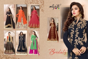ONLY SUITS BRIDAL VOL 3 WHOLESALE EMBROIDERY SALWAR KAMEEZ SURAT BEST RATE GOSIYA EXPORTS (9)