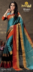 PADMASHREE BHAKTI CATALOG PURE COTTON SILK SAREES COLLECTION WHOLESALE EXPORTS SURAT (1)