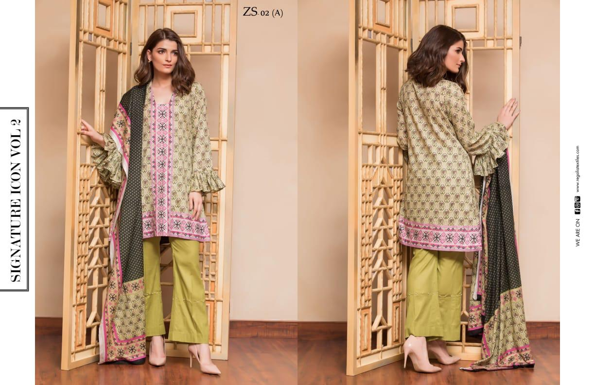 1b4a16043a PAKISTANI SIGNATURE ICON Vol 2 PRINTED LAWN COLLECTION WITH PRINTED LAWN  DUPATTA (17)