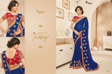 PATANG NEW SERIES OF FANCY DESIGNER SAREE WHOLESALE SUPPLIERS BEST RATE GOSIYA EXPORTS FROM SURAT (11)