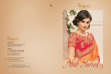 PATANG NEW SERIES OF FANCY DESIGNER SAREE WHOLESALE SUPPLIERS BEST RATE GOSIYA EXPORTS FROM SURAT (16)