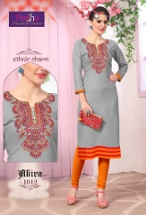 PEEHU AKIRA VOL 3 REYON WORK KURTI WHOLESALER BEST RATE BY GOSIYA EXPORTS SURAT ONLINE (13)