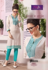 PEEHU AKIRA VOL 3 REYON WORK KURTI WHOLESALER BEST RATE BY GOSIYA EXPORTS SURAT ONLINE (6)