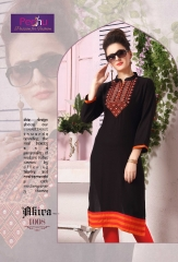 PEEHU AKIRA VOL 3 REYON WORK KURTI WHOLESALER BEST RATE BY GOSIYA EXPORTS SURAT ONLINE (9)