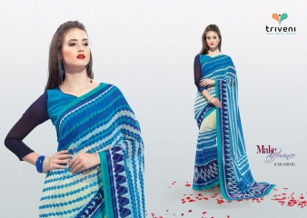 PEEHU VOL 6 BY TRIVENI CASUAL WEAR PRINT SAREES WHOLESALE COLLECTION BEST RATE BY GOSIYA EXPORTS SURAT (2)