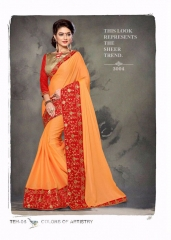 PLATINUM RIGHT ONE FASHION CHIFON SAREES CATALOG BEST RATE BY GOSIYA EXPORTS SURAT (10)