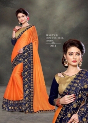 PLATINUM RIGHT ONE FASHION CHIFON SAREES CATALOG BEST RATE BY GOSIYA EXPORTS SURAT (3)