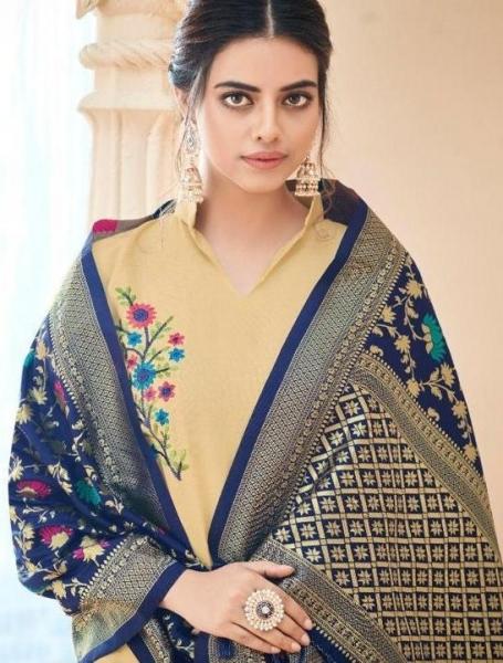 poonam-designer-minakari-cotton-slub-with-work-kurtis-with-dupatta-collection-wholesale-surat-3